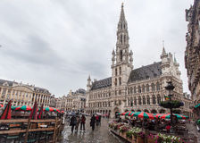 Hotel de Ville Brussels Belgium Stock Photos