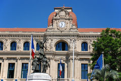 The Hotel de ville of Cannes Royalty Free Stock Photos