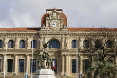 Hotel de ville of Cannes Royalty Free Stock Photos