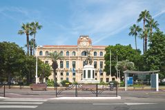 The Hotel de Ville in Cannes Royalty Free Stock Photography