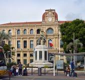 Hotel DE Ville, Cannes Frankrijk royalty-vrije stock afbeelding