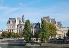 Hotel-de-Ville & x28; Città Hall& x29; a Parigi Fotografia Stock
