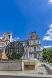 Hotel de Ville City Hall in Paris Royalty Free Stock Photography