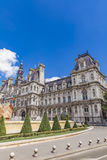 Hotel de Ville City Hall in Paris Royalty Free Stock Images