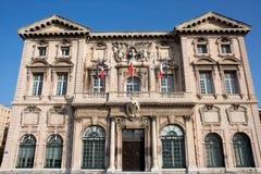 Hotel de Ville de Marsella Imágenes de archivo libres de regalías