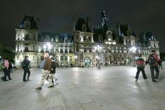 Hotel de Ville em Paris Imagem de Stock