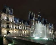 Hotel de Ville Parigi Fotografia Stock