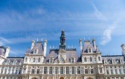 Hotel de Ville a Parigi Immagini Stock Libere da Diritti
