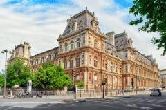 Hotel de Ville a Parigi Immagine Stock Libera da Diritti