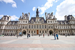 Hotel de Ville, Paris 1 Royalty Free Stock Images