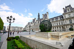 Hotel de Ville, Paris 2 Royalty Free Stock Images