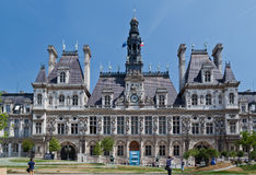 Hotel de Ville Paris Stock Photography