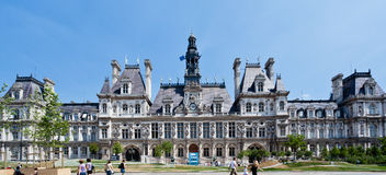 Hotel de Ville Paris Royalty Free Stock Photography