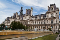 Hotel de Ville Paris Royalty Free Stock Image