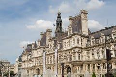 Hotel de Ville Paris Stock Photography