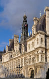 The Hotel de Ville in Paris Royalty Free Stock Photos