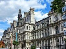 Hotel de Ville in Paris Royalty Free Stock Photos