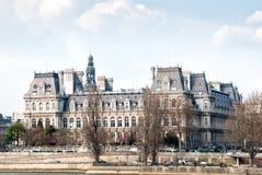 The Hotel de Ville in Paris Stock Images