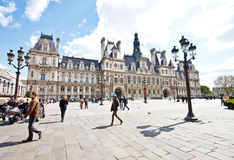 Hotel de Ville, Paris, France Stock Photos