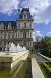 Hotel de Ville, Paris, France Foto de Stock