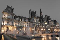 Hotel de Ville, Paris Royalty Free Stock Photos