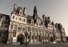 Hotel de Ville, Paris Royalty Free Stock Image