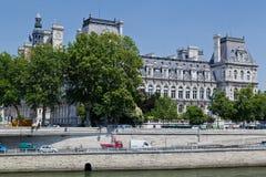 Hotel de Ville París Foto de archivo libre de regalías