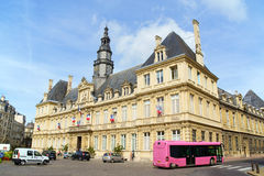Hotel de Ville in Reims (Town Hall), France Royalty Free Stock Photography