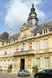 Hotel de Ville in Reims (Town Hall), France Royalty Free Stock Images
