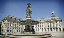 Hotel de Ville (Town Hall) of bordeaux Royalty Free Stock Image