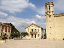 Hotel de Ville, valence-sur-Baïse, França Imagem de Stock Royalty Free