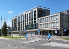Hotel de Vilnius no centro principal Foto de Stock