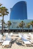 Hotel de W Barcelona Fotografia de Stock Royalty Free