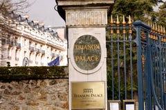 Hotel de Waldorf Astoria Trianon Palace - Versalles Imagen de archivo libre de regalías