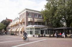 Hotel DE wereld in Wageningen Stock Foto's