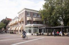 Hotel de wereld a Wageningen Fotografie Stock