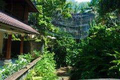 Hotel in de wildernis van Ubud Stock Afbeelding