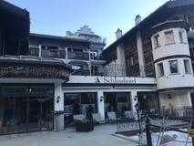Hotel de Zermatt, Suiza Fotografía de archivo libre de regalías