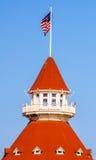 Hotel del科罗纳多,圣地亚哥 免版税库存图片
