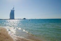 Hotel del árabe del Al de Burj Fotos de archivo libres de regalías