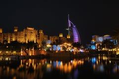 Hotel del árabe del Al de Burj Foto de archivo
