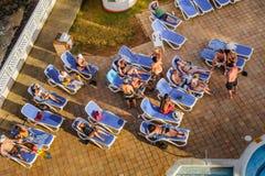 Hotel del acuario de Decameron en San Andres Island Imagen de archivo