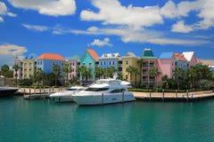 Hotel del Atlantis in Bahamas immagine stock libera da diritti