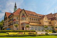 Hotel del balneario en Polonia Fotos de archivo libres de regalías