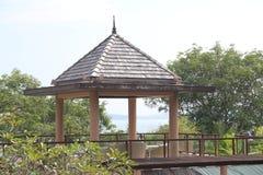 Hotel del bungalow in Tailandia Immagine Stock Libera da Diritti
