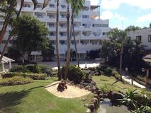 Hotel del chica de Santo-Domingo Boca Fotografía de archivo libre de regalías