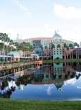 Hotel del cigno al mondo di Walt Disney (2) Fotografia Stock Libera da Diritti