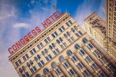 Hotel del congreso Foto de archivo libre de regalías