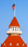 Hotel del Coronado, Σαν Ντιέγκο Στοκ εικόνα με δικαίωμα ελεύθερης χρήσης