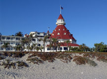 Hotel Del Coronado. On Coronado Island Royalty Free Stock Photo